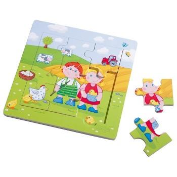 Puzzle - Jaś i Małgosia