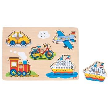 Puzzle dźwiękowe - transport