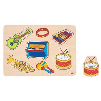 Puzzle dźwiękowe - instrumenety