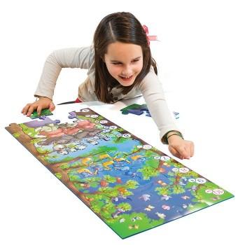 Maxi elastyczne puzzle Safari
