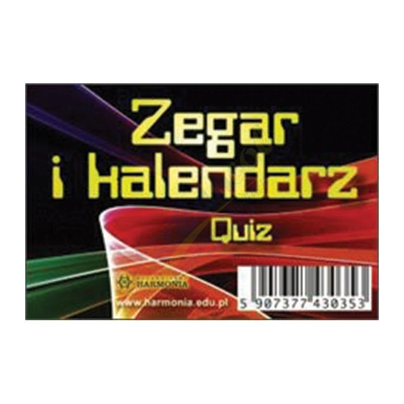 Zegar i kalendarz - Quiz