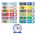 Zegar - Czas - pory dnia, aktywności i zadań