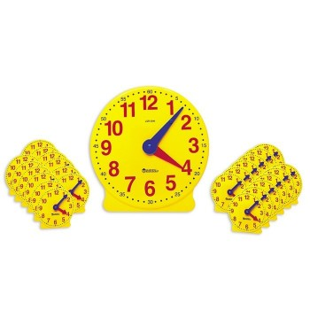 Zestaw klasowy 25 zegarów