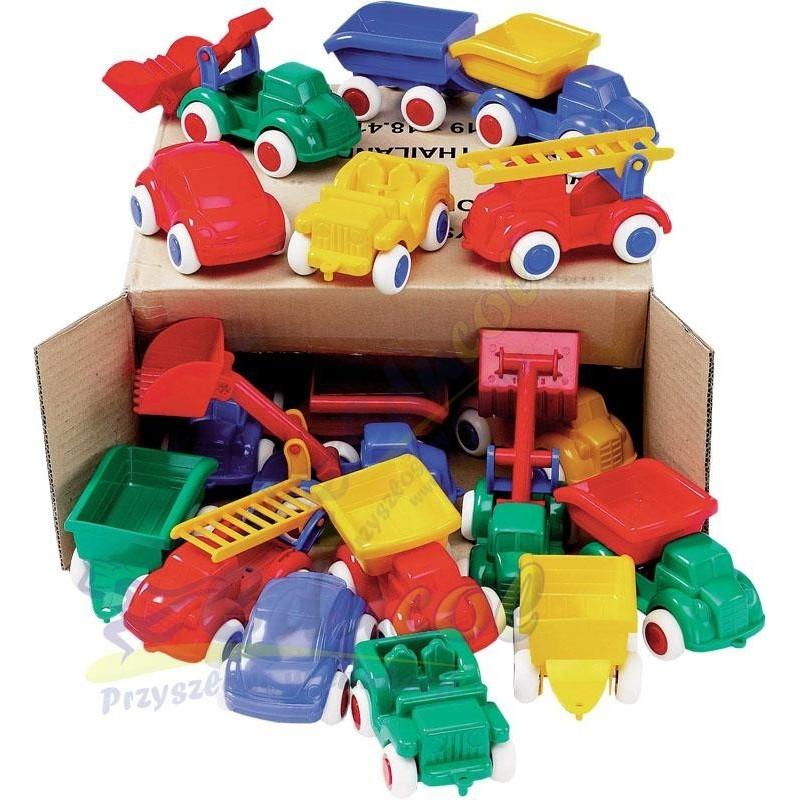 Mix pojazdów w kartonie