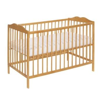 Łóżeczko niemowlęce z kompletem pościeli