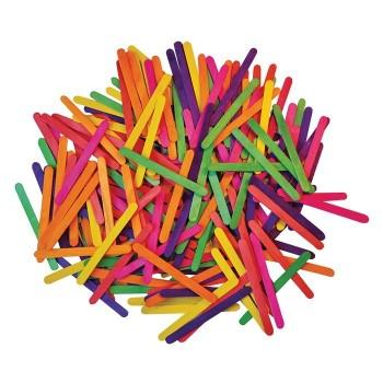Kolorowe patyczki - 2500 szt.
