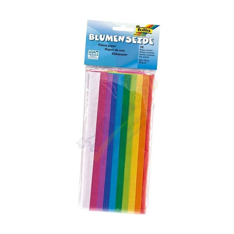 Bibuła - 10 kolorów