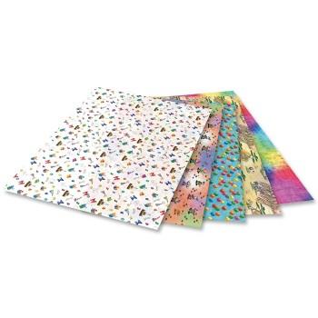 Papier transparentny kolorowy - ozdobny