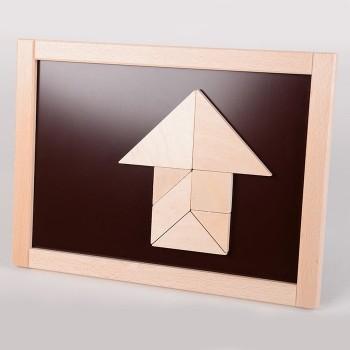 Tangram magnetyczny