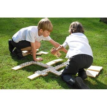 Mega domino - drewniane