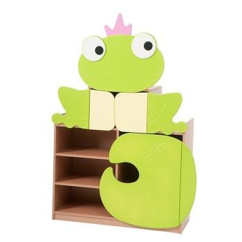 Żabka - szeroka szafka pastelowa