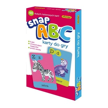 Snap ABC – karty do gry