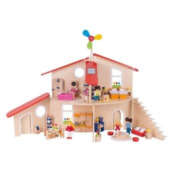 Kreatywny domek dla lalek
