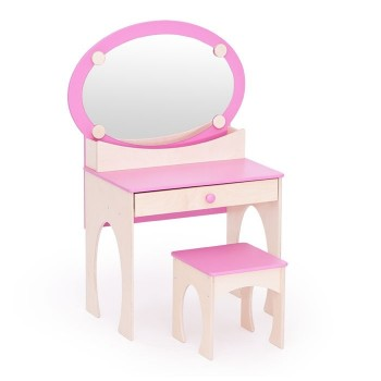 Toaletka różowa
