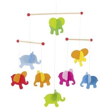 Karuzela ze słonikami