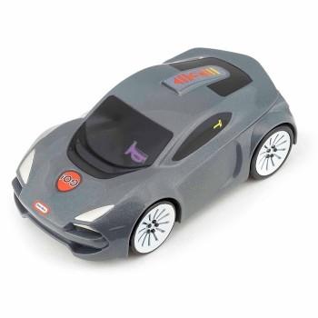 Auto sportowe z dźwiękiem - szare