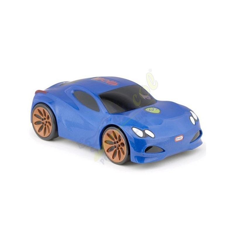 Samochód sportowy z dźwiękiem - niebieski