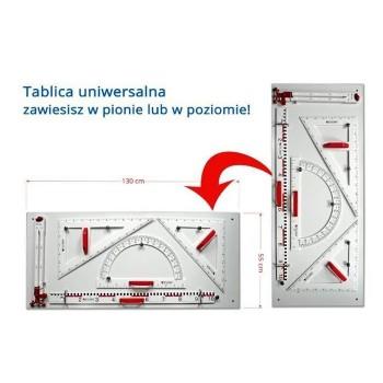 Magnetyczne przybory PCV - tablica uniwersalna