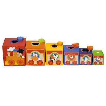 Kolorowe pudełka - Sorter Cyrk