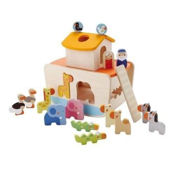 Arka Noego z figurkami do sortowania