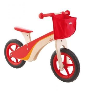 Drewniany rowerek biegowy