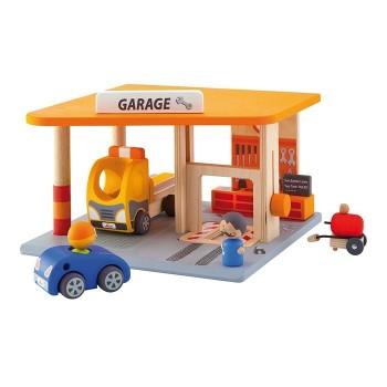 Garaż z akcesoriami