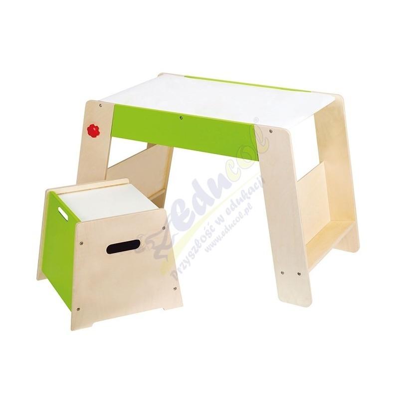Drewniany stolik + krzesełko
