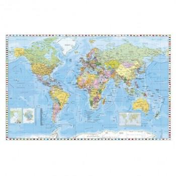 Mapa polityczna świata - angielski