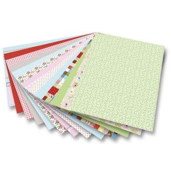 Blok papierów ozdobnych - Lato