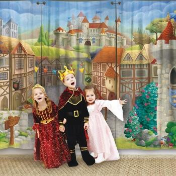 Kurtyna teatralna - Zamek