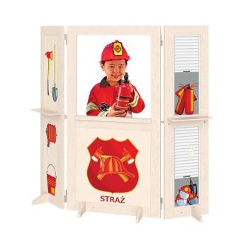 Kącik zabaw - Straż Pożarna