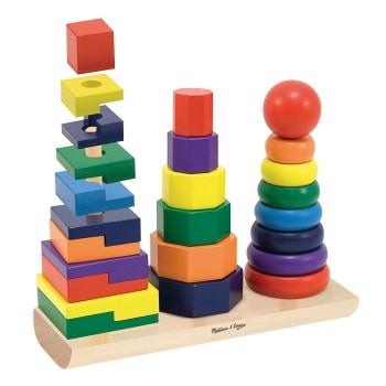 Zbiór składanych wież