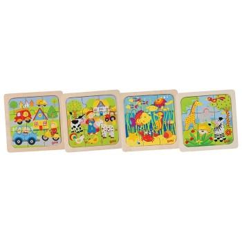 4 puzzle dla najmłodszych