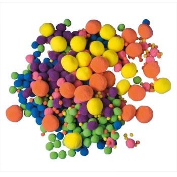 Pompony mieszane 500 sztuk