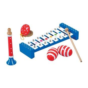 Zestaw 4 instrumentów muzycznych