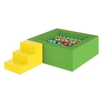 Suchy basen z piłeczkami - 1,6 x 1,6 m 4000 piłek