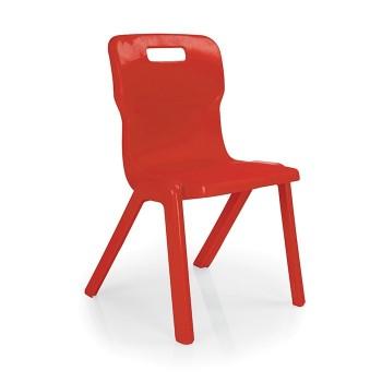 Krzesło przedszkolne - jednoczęściowe T3 - 35 cm