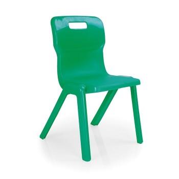 Krzesło szkolne - jednoczęściowe T4 - 38 cm