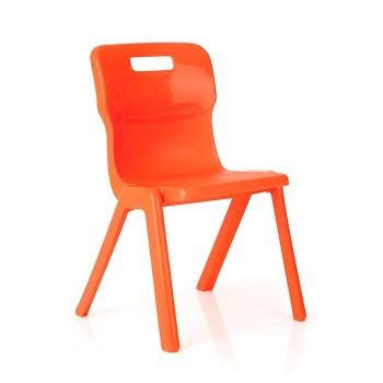 Krzesło szkolne - jednoczęściowe T5 - 43 cm