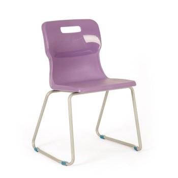 Krzesło przedszkolne - na płozach T23 - 35 cm