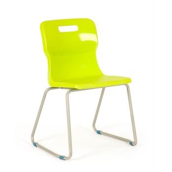 Krzesło szkolne - na płozach T24 - 38 cm