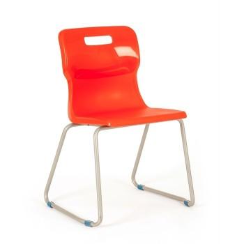 Krzesło szkolne - na płozach T25 - 43 cm