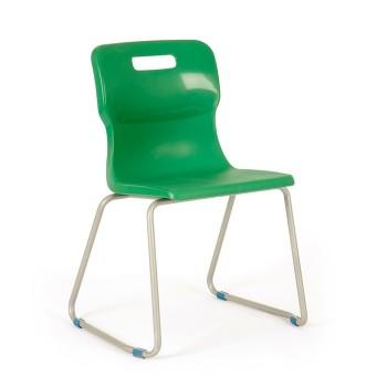 Krzesło szkolne - na płozach T26 - 46 cm