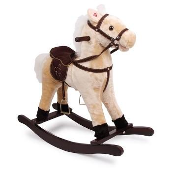 Koń na biegunach - Kudłaty