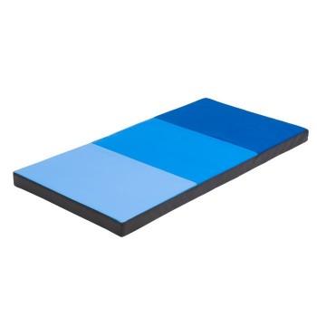 Materacyk przedszkolny - niebieski