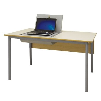 Biurko ze skrytką na laptopa RS-L