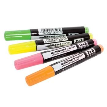 Markery fluorescencyjne do tablic szklanych