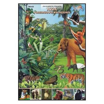 Plansze - występowanie zwierząt - Azja Południowo-Wschodnia