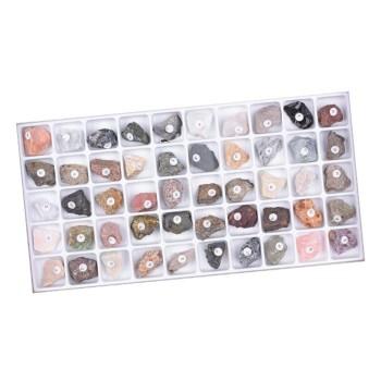Zestaw klasowy skał i minerałów