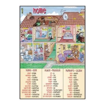 Plansza edukacyjna - Home